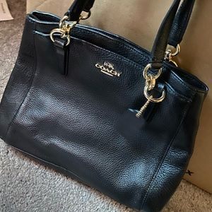 Coach leather